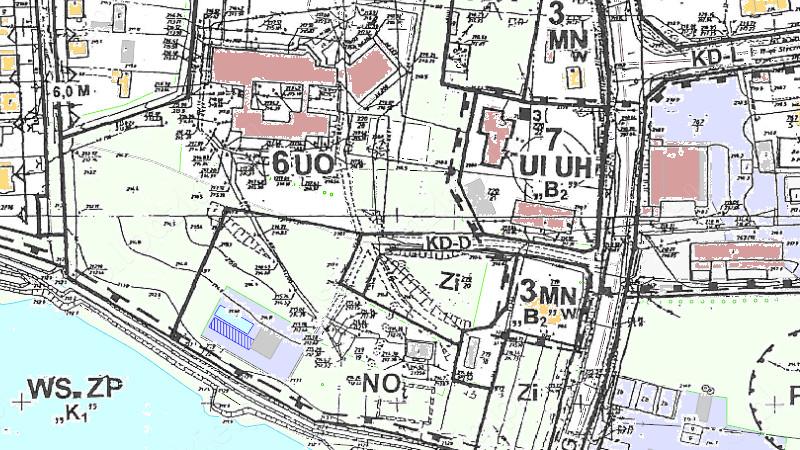 Grafika dla mapy: Planowanie przestrzenne gminy Strzelce Wielkie