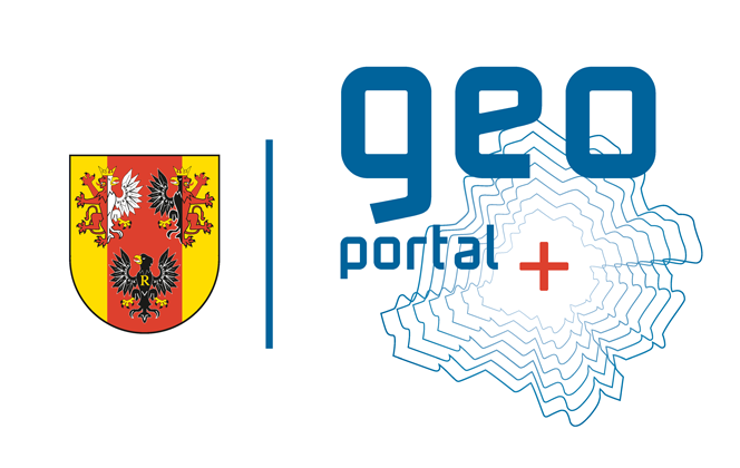logotyp geoportalu województwa łódzkiego z herbem województwa