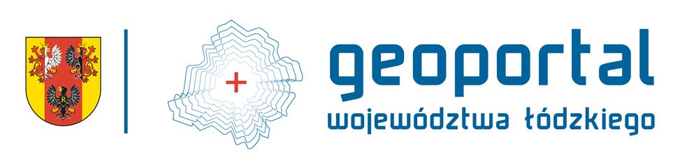 logo geoportalu z pełną nazwą i herbem województwa