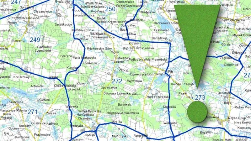 Grafika dla mapy: Obwody łowieckie – składanie uwag do projektu uchwały